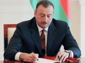 President Ilham Aliyev allocates AZN 1.8M for road construction